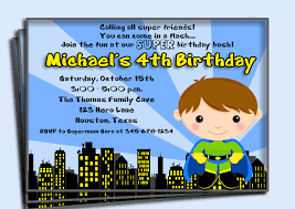 Superhero Invitation Card Superhero Birthday Invitation Printable Or Printed With Free