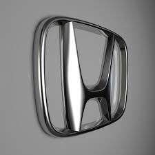 logo honda honda logo by reticulum 3docean