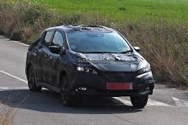 nissan leaf japan 2018 2018 nissan leaf spied testing in europe still very camouflaged