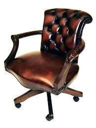 fauteuil bureau cuir bois fauteuil de bureau en cuir styleanddiet info