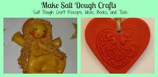 make salt dough crafts salz teig