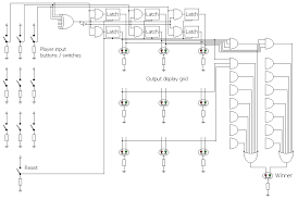 led tic tac toe electronics forum circuits projects and