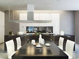 cuisine avec table à manger ilot cuisine table a manger besoin inspirations et avec équipée