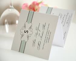 wedding programs trifold vintage wrap tri fold wedding programs sle in mint on pearl