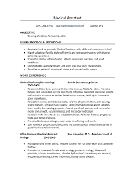 american resume exles medical assistant resumes keyresume us houston remarkable with