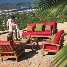 Red Patio Set by Furniture Ideas Cushions For Patio Furniture With Red Cushion