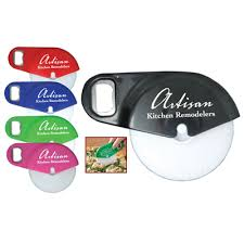 personalized pizza cutter promotional pizza cutter bottle opener