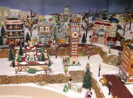 German Christmas Village Decorations by Christmas Village Ideas Can You Believe Your Eyes It U0027s Santa