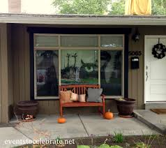 Halloween House Ideas Decorating Diy Fall Front Porch Where To Find All The Decor Items Copy How