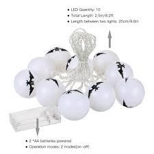 10led 8 2ft halloween string light battery light lamp for theme