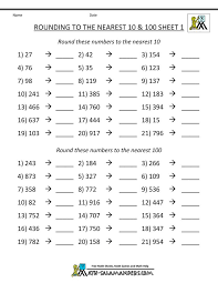 math drills rounding 25 best math images on rounding numbers number