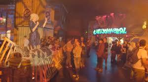 scare zones at halloween horror nights 2014 universal studios