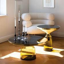 bell coffee table brass classicon ambientedirect com