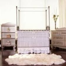 love the wrought iron cribs in this vintage nursery vintage