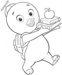 backyardigans coloring pages ngbasic com