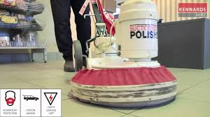 operating a floor polisher youtube