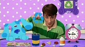 blue u0027s clues 02x05 what does blue want to make out of recycled