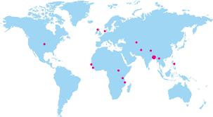 A World Map Bracusa Org Brac Usa Website