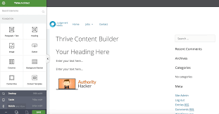 thrive architect review better than thrive content builder