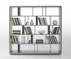 grey modern bookshelf u0026 room divider