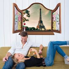 Eiffel Tower Room Ideas Online Buy Wholesale Eiffel Tower Wall Stickers From China Eiffel