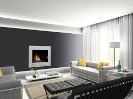 modern stone fireplace wall ideas design surround loversiq