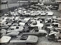 corvette junkyard california 60 best salvage yards images on abandoned cars