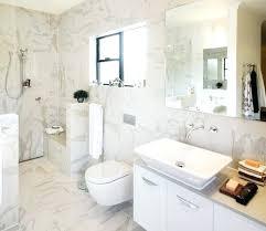 White Carrera Marble Bathroom - white marble bath u2013 eatatjacknjills com