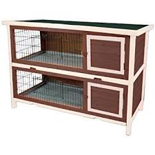 Heavy Duty Rabbit Hutch Amazon Com Ware Manufacturing Hd Bunny And Rabbit Double Hutch