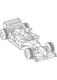dessin à imprimer prefix voiture de formule 1