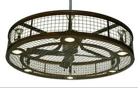 industrial style ceiling fans 7 rustic industrial ceiling fans with cage lights you ll love inside