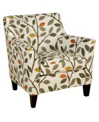 Patterned Accent Chair Karlie Fabric Accent Chair Furniture Macy U0027s