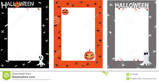 halloween invites poster border royalty free stock photos image