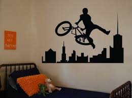 home decoration wall sticker soccer ball football vinyl decal image bmx sport wall decals sports stickers for bedrooms