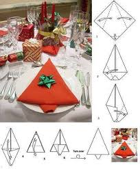 20 best diy napkin folding tutorials for christmas www