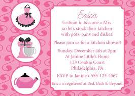 kitchen themed bridal shower invitations wording wedding