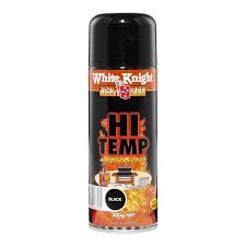 Spray Paint White - white knight high temp 300g black spray paint bunnings warehouse