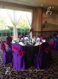 purple chair covers chicago chair covers for rental in purple in the lamour satin