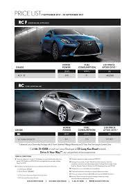 lexus singapore printed car price list oneshift com