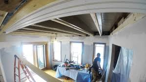 tongue and groove beadboard ceiling installation youtube