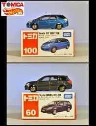 tomica toyota super fun wheels blog tomica honda fit shuttle u0026 toyota
