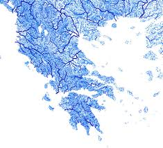 Europe Map With Rivers by The Beautiful Map Of Europe Drawn By Its Rivers And Streams