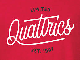 qualtrics theme design lettering