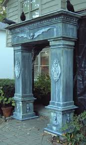 Spooky Halloween Prop Tutorials One Armed Grave Grabber Foam 82 Best Halloween Cemetery Gates Arches And Entrances Images On