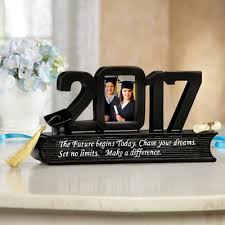 graduation frame class of 2017 graduation photo frame from collections etc