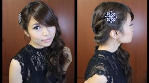 prom hairstyle tutorial youtube