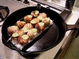 escargot cuisiné escargot