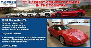 1996 corvette lt4 for sale available exquisite 1996 corvette lt4 only 9 534