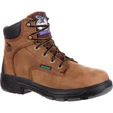 georgia boot men u0027s flxpoint comfort waterproof work boots