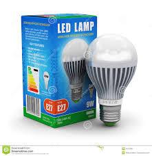 light box light bulbs led l with package box stock illustration illustration of energy